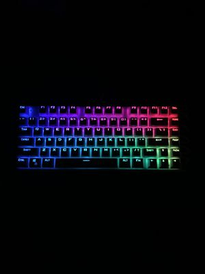 The HUO JI Z88 Z-88 RGB Mechanical Gaming Keyboard. for Sale in Des Plaines, IL