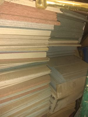 Tile glue down or cement about 300 lbs different colors make offer for Sale in Knoxville, TN
