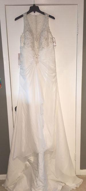 Wedding dress (Never Been Worn), Ivory, Label Size 12 for Sale in Alexandria, VA