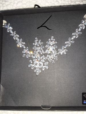 Diamond Earrings/Necklace set for Sale in DW GDNS, TX
