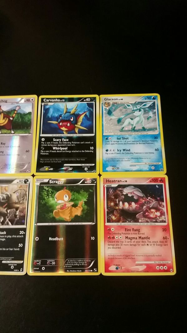 8 rare old POKEMON Holo / Hologram Cards