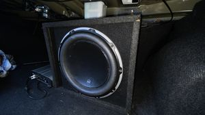 "JL Audio 12"" Sub & JL Audio Amp for Sale in Falls Church, VA"