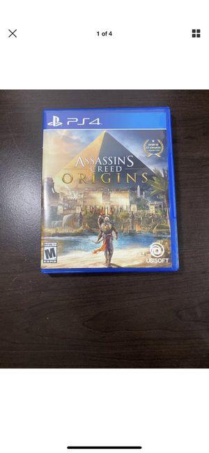 Assassins Creed Origins PS4 for Sale in Norfolk, VA