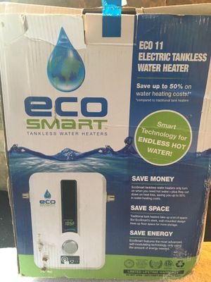 (2) Eco--11 ECO SMART Tankless-electric waters For sale for Sale in Renton, WA