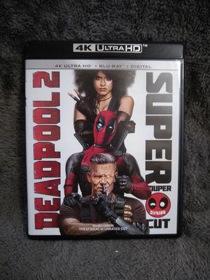 Deadpool 2, Super Duper Cut (4K Ultra HD + Blue-Ray) for Sale in Spartanburg, SC