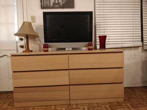 """Like new long dresser/TV stand with big drawers in great condition all drawers working well. L63""""*W19""""*H30.5"""" for Sale in Annandale, VA"""