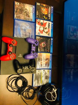 PlayStation (4). 1,000 GB for Sale in Meriden, CT