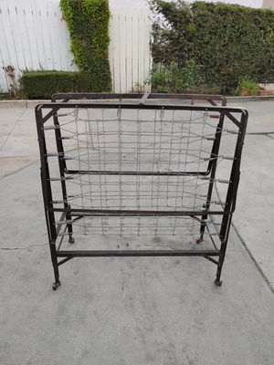 "Roll away bed frame. In good condition. No wheels. 30"" wide. 74 "" long. Twin size for Sale in Alhambra, CA"