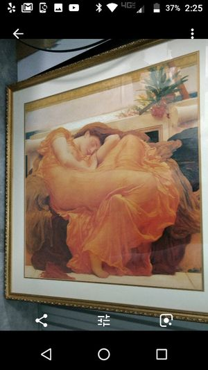 """Sleeping June"" large Frame for Sale in West Palm Beach, FL"