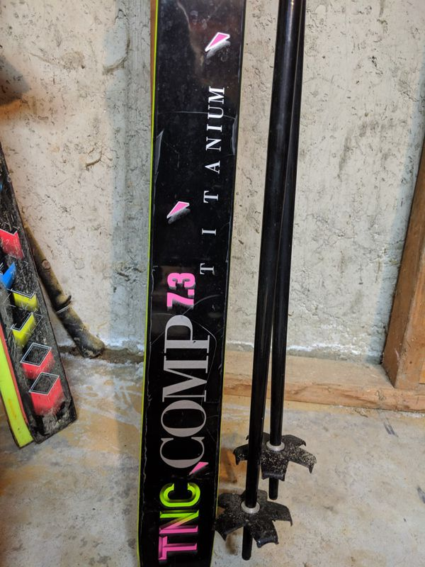 K2 TNC Comp 7.3 skis 210cm