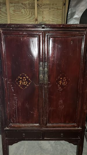 Antique Asian cabinet for Sale in Gulf Breeze, FL