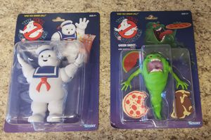 2 Kenner Classics Toys Ghostbusters Stay Puft Slimer Green Ghost Action Figures for Sale in Littleton, CO
