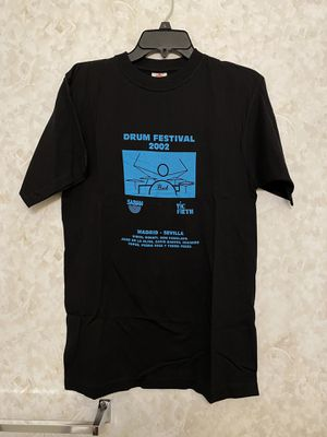 Vintage Drum Festival Sabian symbols Vic firth medium tee for Sale in Chino Hills, CA
