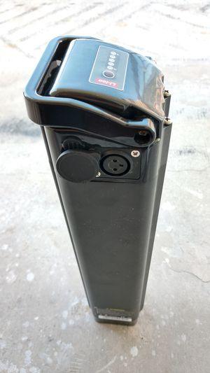 Black electric bike battery for Ness bike for Sale in Miami, FL