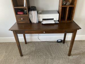 Wood Computer Desk with detachable Top Hutch for Sale in Alpharetta, GA