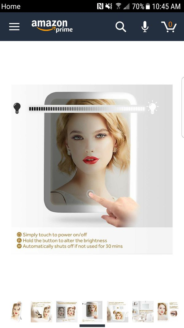 New Makeup Vanity Mirror with 37 LED Lights