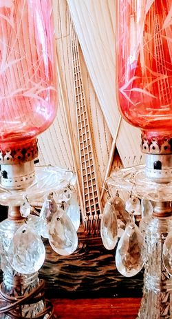 Antique Vanity, Mantle Lamps for Sale in New Kensington,  PA