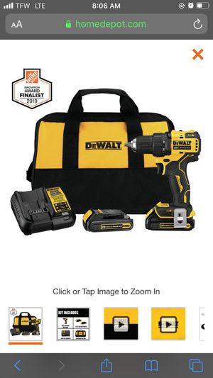 Dewalt power charger and drill for Sale in Laguna Hills, CA