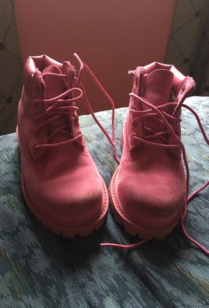 Timberland boots size 8 c for Sale in Portland, OR