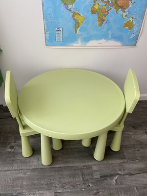 IKEA kids chairs&table for Sale in Los Angeles, CA