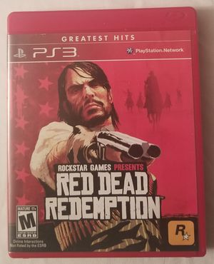 Red Dead Redemption Greatest Hits PS3 Video Game Complete for Sale in Three Rivers, MI