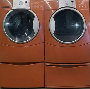 Kenmore washer and dryer front load with pedestals for Sale in Gallatin, TN