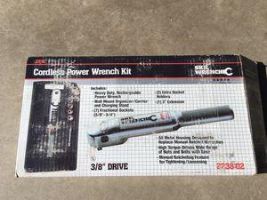 SKIL cordless power wrench kit; for Sale in Tehachapi, CA