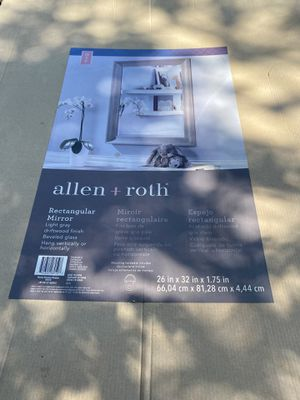 ALLEN + ROTH WALL MIRROR for Sale in Riverside, CA