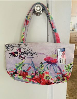 Bag tote cloth material NEW WITH TAGS pick up Van Nuys or Pasadena RETAIL PRICE $25 for Sale in Pasadena, CA