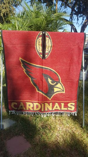 Arizona cardinals football poncho gaban thick like a blanket for Sale in Long Beach, CA