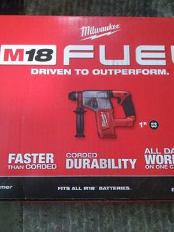 Milwaukee M18 Fuel 1inch SDS Plus Rotary Hammer. Brand New. for Sale in Boring,  OR