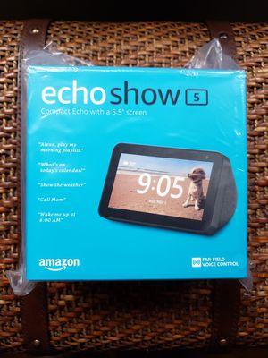 Echo show 5 brand new for Sale in Santa Clarita, CA