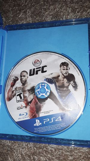 UFC ps4 game for Sale in Ruston, LA