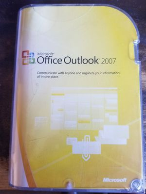 Microsoft Office Outlook 2007 for Sale in Cave Creek, AZ