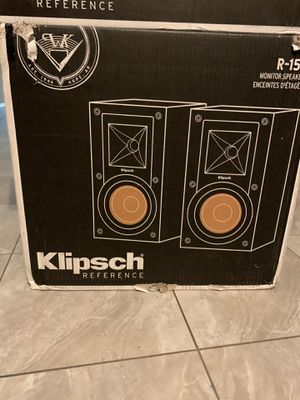 Klipsch center Speaker & Klipsch Moniter Speaker for Sale in Hartsdale, NY