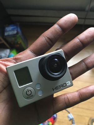 Go pro Hero 3 W/ DISPLY ADD - ON for Sale in Albany, NY
