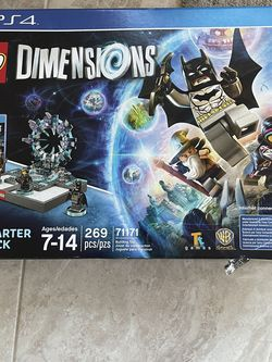 NEW!!PS4 LEGO DIMENSIONS STARTER PACK for Sale in Pasadena,  CA