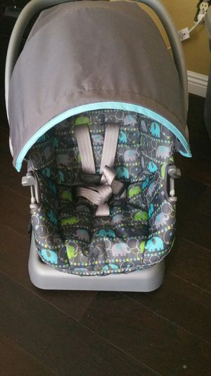 Cosco car seat and stroller only use twice for Sale in Hemet, CA