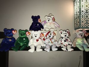 Rare Ty Beanie Babies Bear Collection w/ errors for Sale in Denver, CO