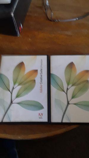 2 rarely used Adobe Creative Suite 2 Premium programs for Sale in Pittsburg, CA