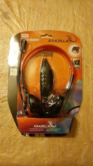 Krazilla KZH800 USB Gaming Headset for Sale in New York, NY