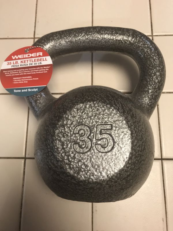 New never used 35 LBS