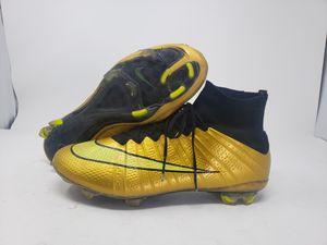 Nike Mercurial Superfly 4 IV Black volt Gold Soccer Cleats Sz 6.5 Men 8 Womens ACC EU39 ELITE for Sale in Avondale, AZ