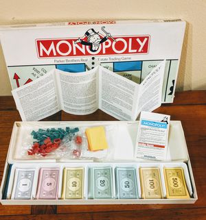 Monopoly 1985 board game. for Sale in Vancouver, WA