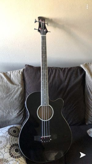 Acoustic bass guitar for Sale in Escondido, CA