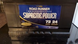 Road Runner 40R72 battery for Sale in Freedom, WI