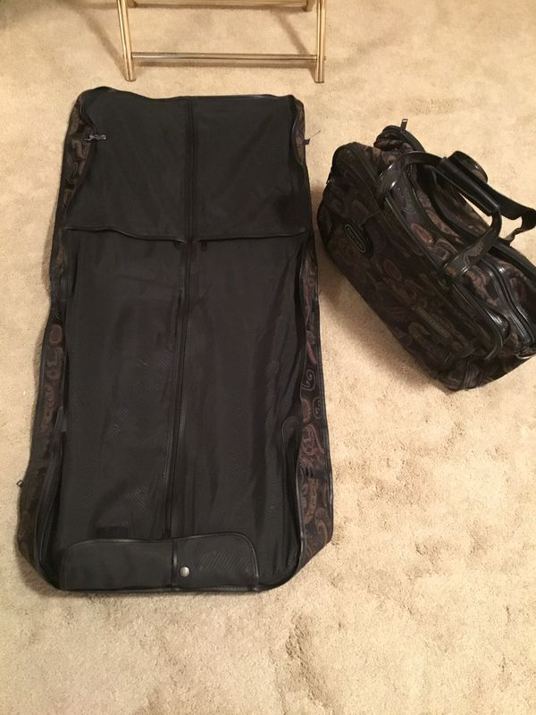 Pierre Cardin duffle hand luggage and garment bag