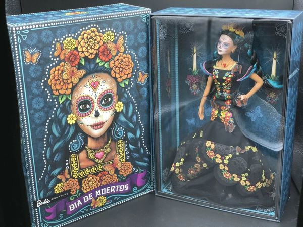 Barbie Dia De Los Muertos 2019 (Day of The Dead) Doll IN HAND BRAND NEW FXD52