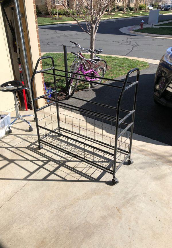 Ball Garage Rack