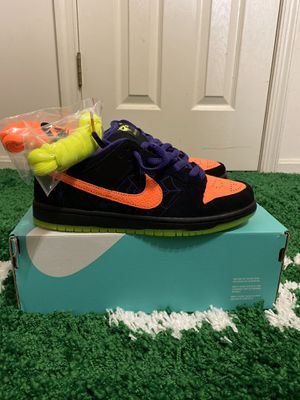 NIKE SB DUNK OF MISCHIEF HALLOWEEN SIZES 8 9 for Sale in Fort Washington, MD